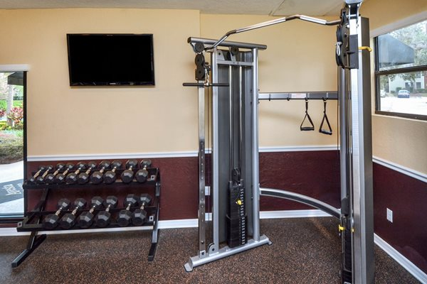 Fitness Center 9 | The Park at Elland Apartments in Clearwater, Fl