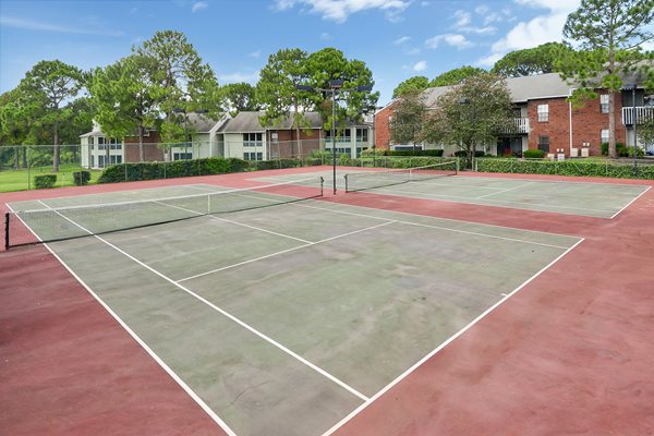 Tennis Court | The Park at Elland Apartments in Clearwater, Fl