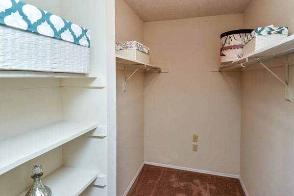 Closet 2 | The Park at Elland Apartments in Clearwater, Fl