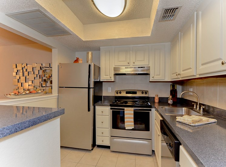 Kitchen 5 | The Park at Elland Apartments in Clearwater, Fl