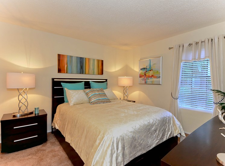 Bedroom | The Park at Elland Apartments in Clearwater, Fl