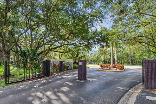 Front Gate | The Park at Gibraltar Apartments Clearwater Tampa, Fl