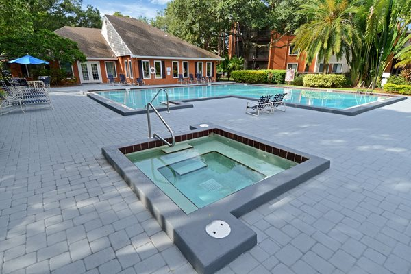 Hot Tub | The Park at Gibraltar Apartments Clearwater Tampa, Fl
