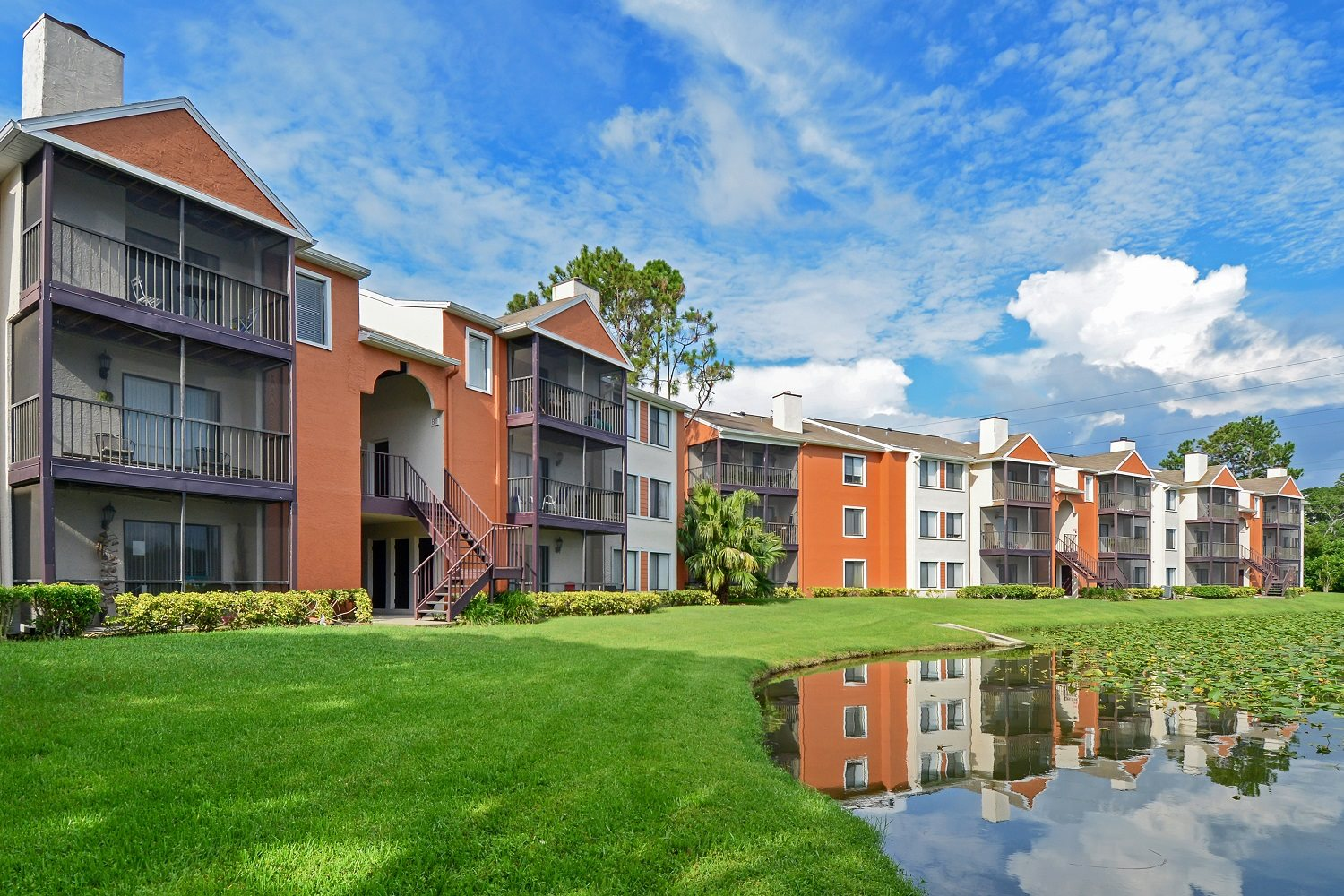 Exterior | The Park at Gibraltar Apartments Clearwater Tampa, Fl