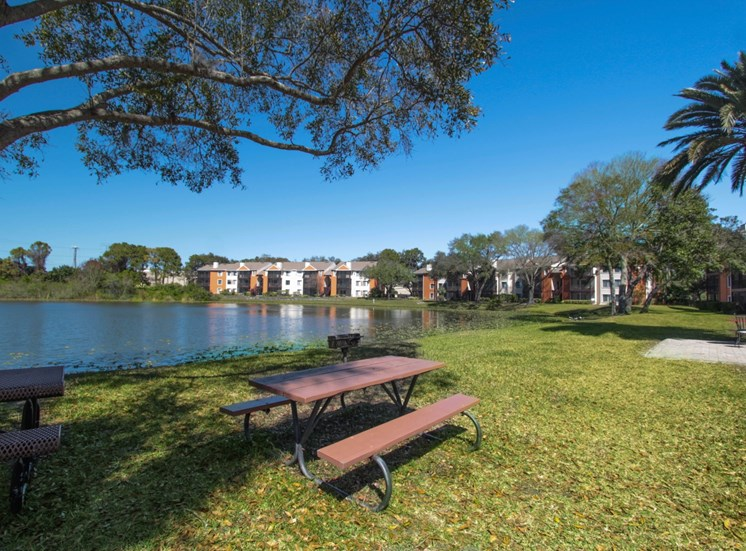 Private Lake | The Park at Gibraltar Apartments Clearwater Tampa, Fl