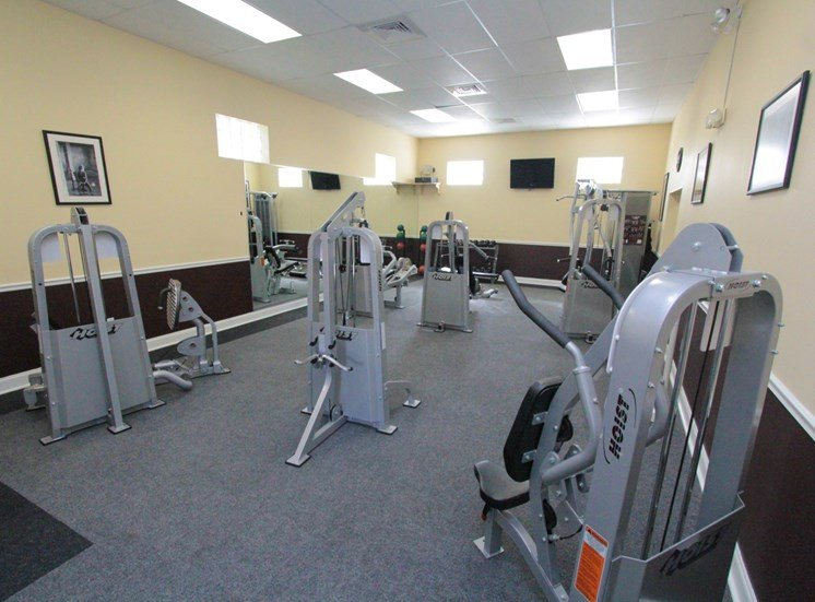 Fitness Center | The Park at Gibraltar Apartments Clearwater Tampa, Fl