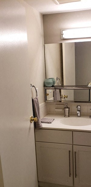 Bathroom at Stratton Hill Park Apartments in Worcester, MA