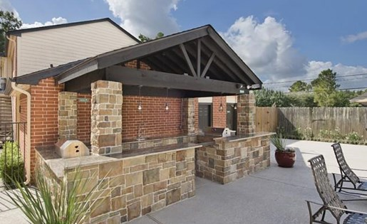 Outdoor Grill Pavilion at Foundations at Austin, Colony 1800 Austin Parkway, Sugar Land, TX 77479