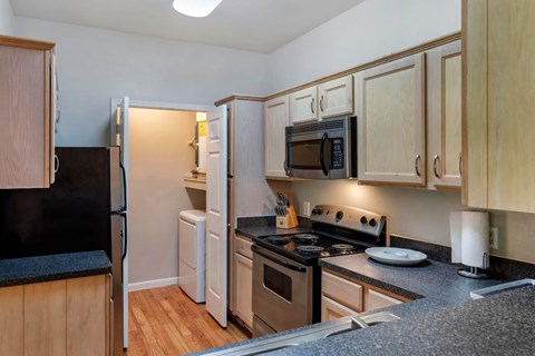 Regency at First Colony |  Fully Equipped Kitchen with Stainless Steel Appliances
