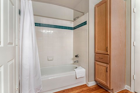 Regency at First Colony |  Bathroom with Garden Style Tub