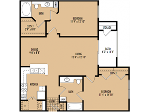 Regency at First Colony Apartments   B2