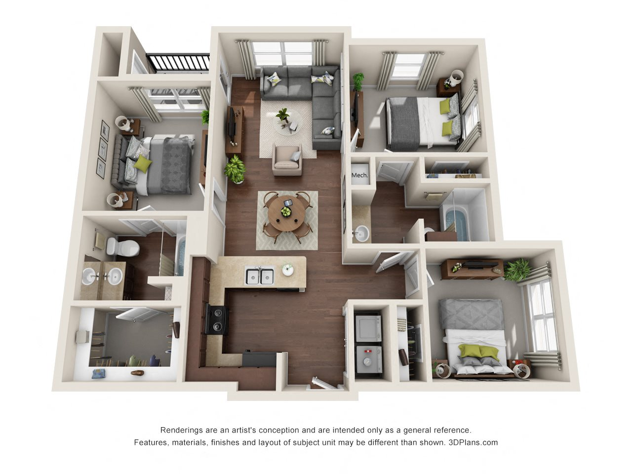 Cambrian Floor Plan 3