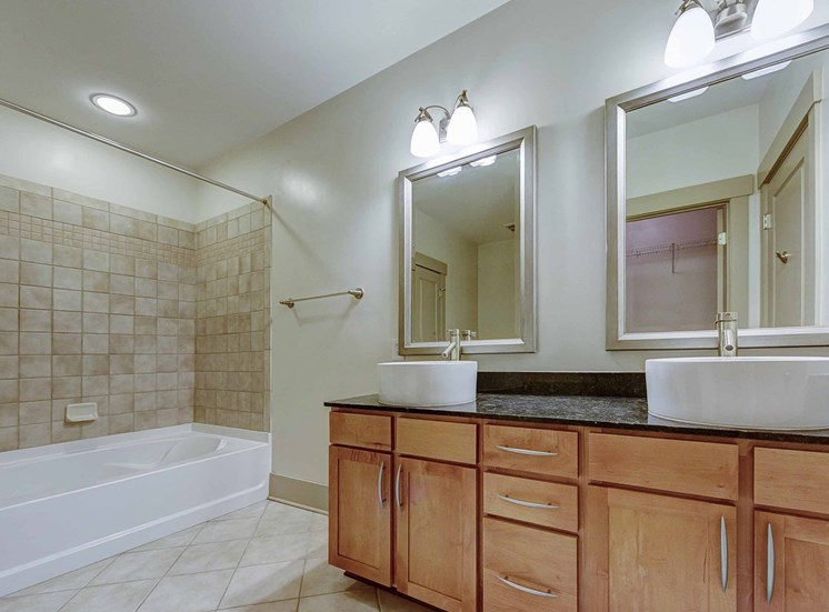 Hardwood Flooring and Tiled Bathrooms at 712 Tucker, Raleigh, 27603