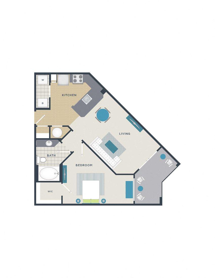 Floor plan at 712 Tucker, Raleigh,North Carolina