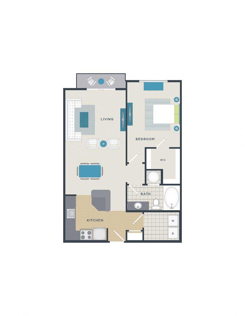 Floor plan at 712 Tucker, North Carolina