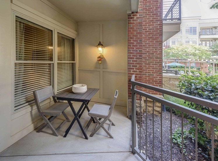 Private Patio/Balcony with Dining Area at 712 Tucker, Raleigh, 27603