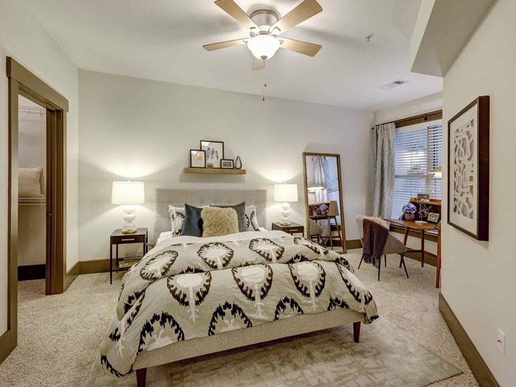 Spacious bedroom sizes at 712 Tucker, Raleigh, NC 27603
