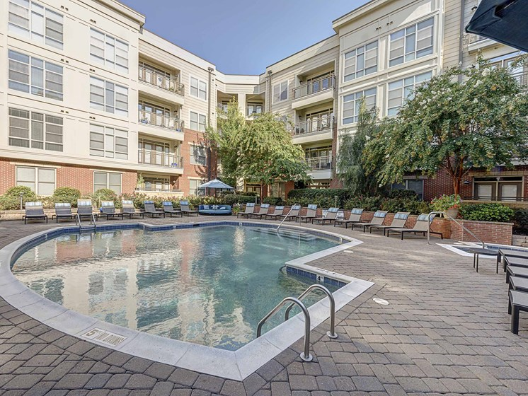 Shimmering Swimming Pool at 712 Tucker, Raleigh