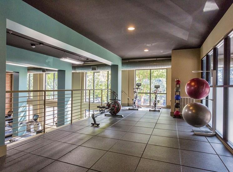 Club Quality Fitness Center at 712 Tucker, Raleigh, North Carolina