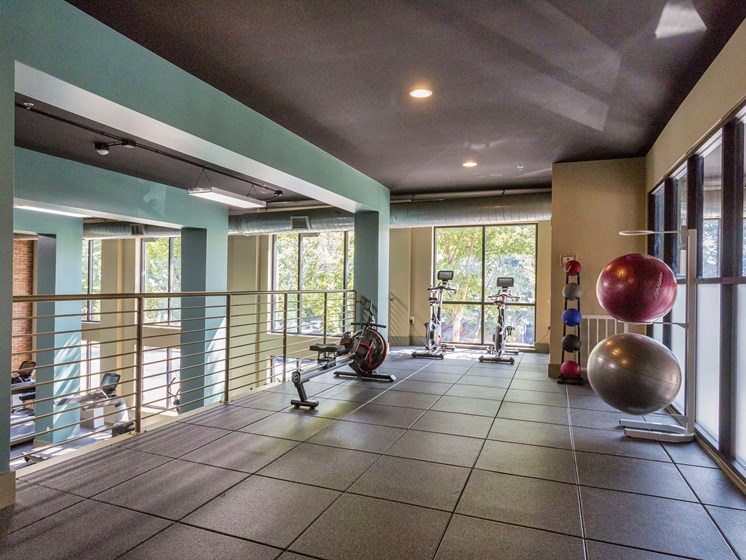 Club Quality Fitness Center at 712 Tucker, Raleigh, North Carolina