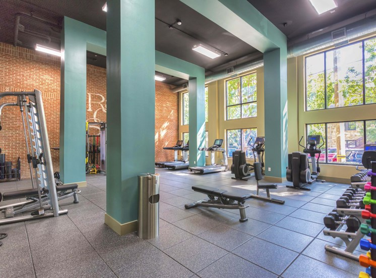 Fitness Center Access at 712 Tucker, Raleigh