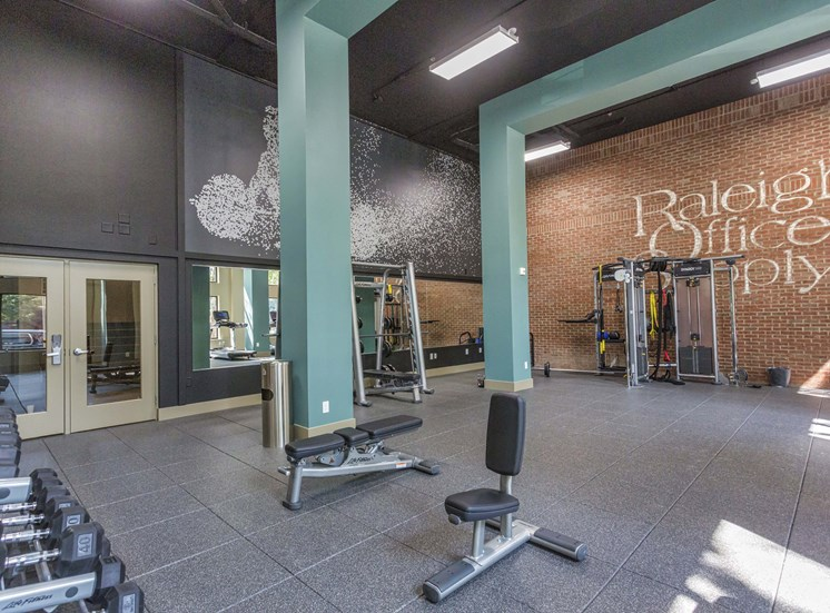Dual Level Fitness Center at 712 Tucker, Raleigh, NC, 27603
