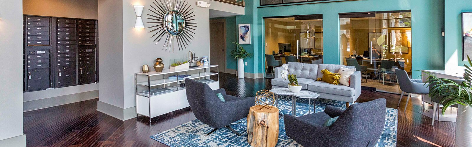 Resident Lounge and Gathering Room at 712 Tucker, Raleigh, NC