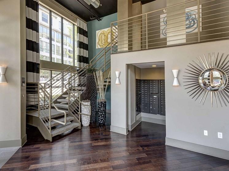 Custom Designed Resident Lounge at 712 Tucker, North Carolina