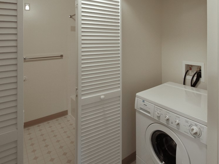 Laundry washer dryer in-unit