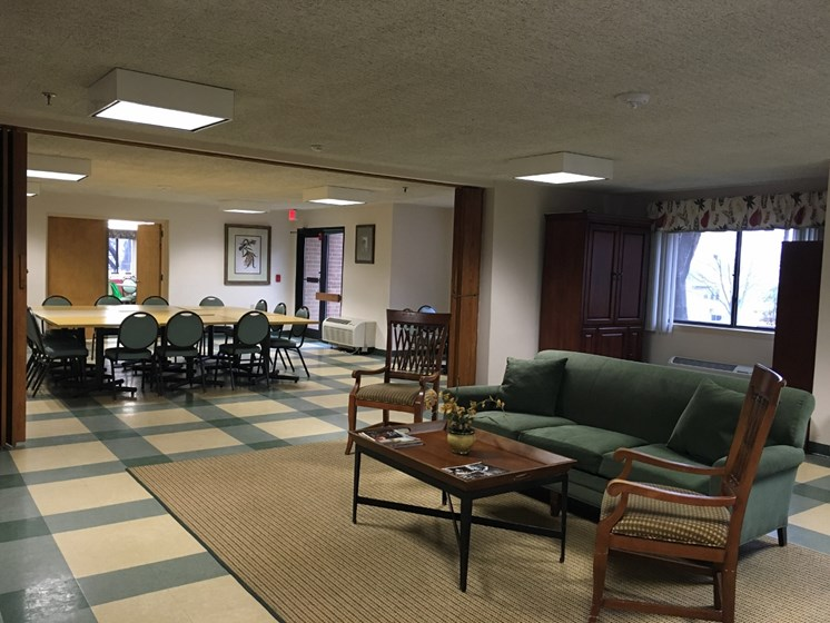 Lounge and Community Room