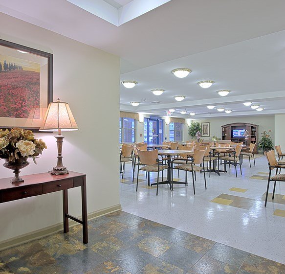 Park View Ashland Terrace Hallway