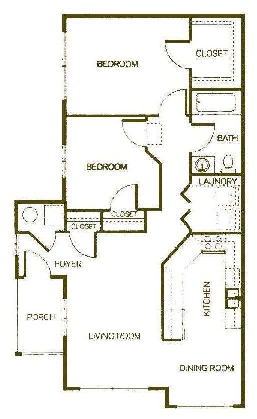 Cottage Floor Plan 3