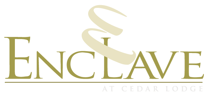 Property Logo at The Enclave at Cedar Lodge Apartments in Baton Rouge, Louisiana, LA