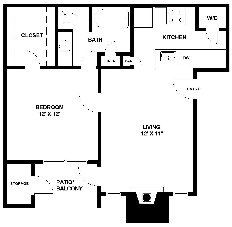 Jordan Creek Apartments: One & Two Bedroom Apartments In Arlington