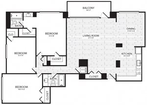 3 Bedroom, 2 Bath - C1 - Renovated