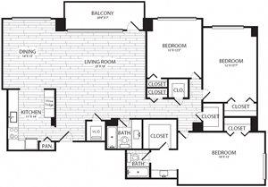 3 Bedroom, 2 Bath - C2 - Renovated
