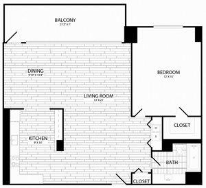 1 Bedroom, 1 Bath - A12 - Renovated