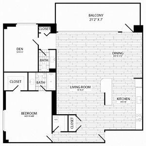 1 Bedroom, 1.5 Bath - A15 - Renovated