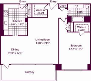 1 Bedroom, 1 Bath - A9 - Renovated