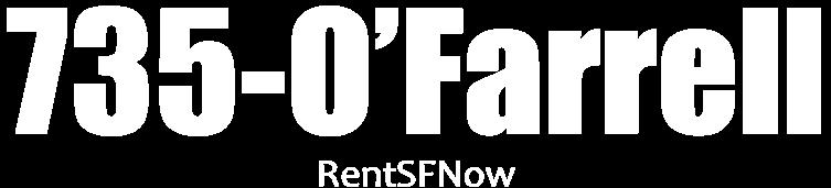 735 O'FARRELL Apartments Property Logo 1