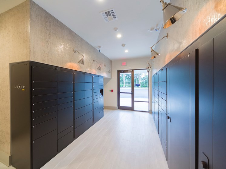 Ciel Luxury Apartments | Package Locker System