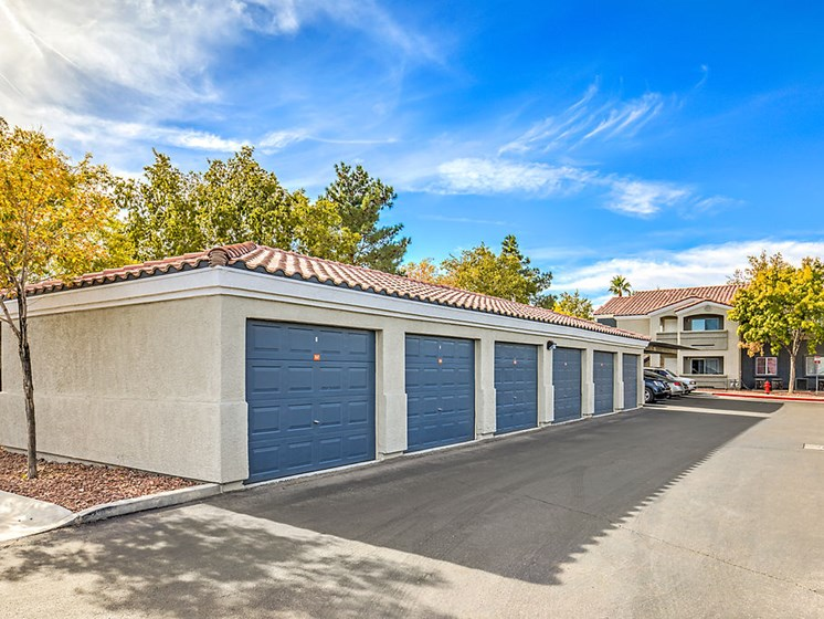 individual garages available