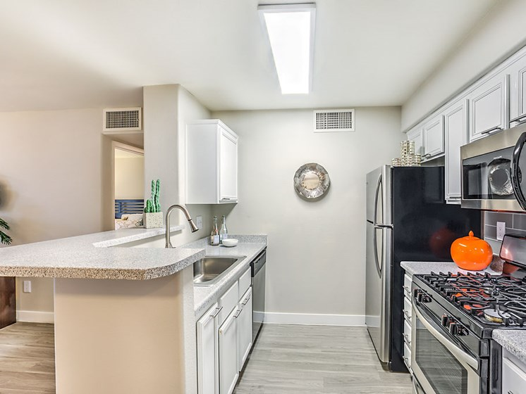 Las Vegas Apartments for Rent - The Edmond at Hacienda Apartments Kitchen