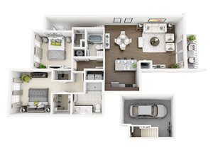 Floor plan at Altis Sand Lake, Orlando, FL 32836