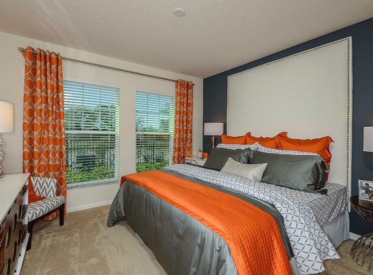 King-Sized Bedrooms at Altis Sand Lake, Florida, 32836