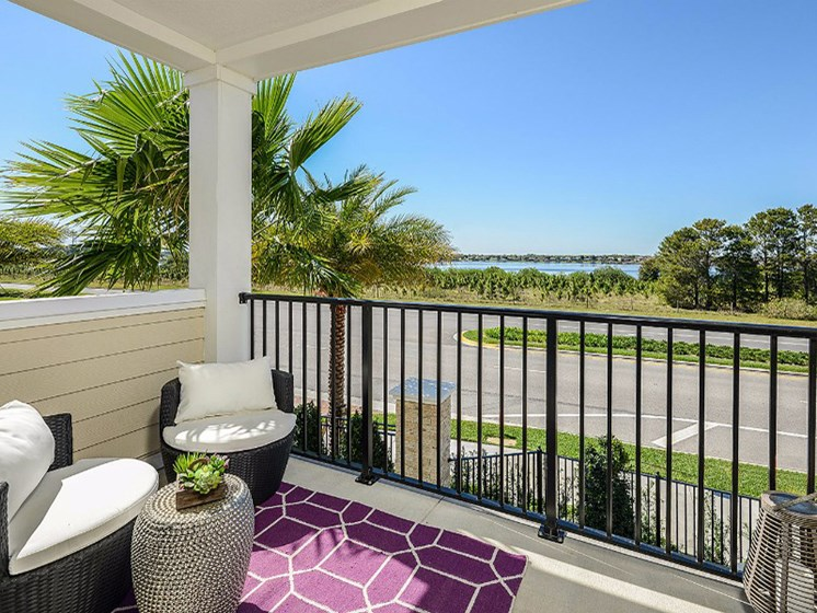Private Patio/Balcony with Beautiful View at Altis Sand Lake, Orlando, 32836