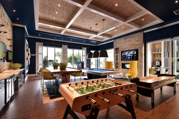Clubhouse with Grilling Station and Game Room at Altis Sand Lake, Florida