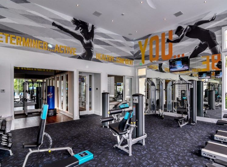 Fully Equipped Fitness Center at Altis Sand Lake, Orlando, Florida
