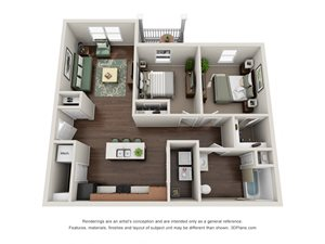 Floor plan at Tiffin Pointe, Tiffin, 44883