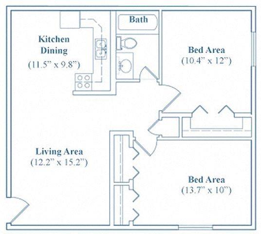 Village Gate Apartments: Floor Plans Of Main Gate Village Apartments In Tucson, AZ